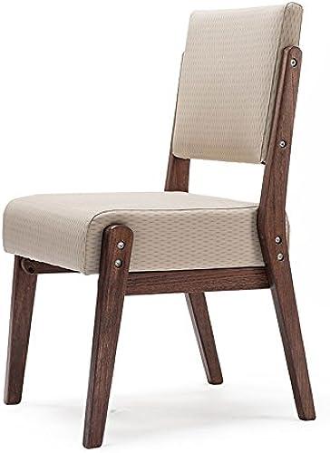 FEI Bequem Esszimmerstühle Weiße Sitzküchenstühle mit h erner Art für das Speisen und Wohnzimmer Stark und langlebig (Farbe   9)
