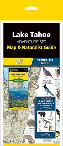 Lake Tahoe Adventure Set: Trail Map & Wildlife Guide