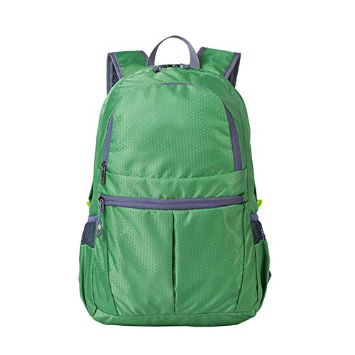 Carolilly Sac à Dos Unisexe Imperméable Sac à Dos Voyage Osprey Backpack Travel Sac à Dos de Randonnée Léger Pliable (Armée Verte, Taille Unique)