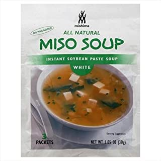 Mishima Soup Instant White Miso, 1.05 oz