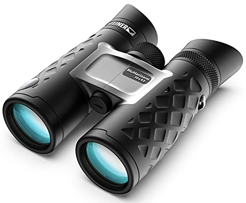 Steiner BluHorizons Binoculars with Unique Lens Technology, Eye Protection, Compact, Lightweight, Ideal for Outdoor Activities and Sporting Events,...