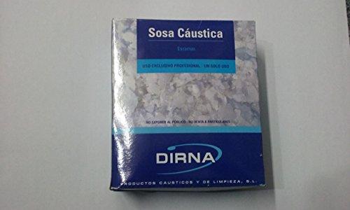 Sosa Caustica en escama 1 kg.