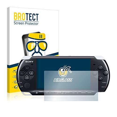 BROTECT Protector Pantalla Cristal Compatible con Sony PSP 3000 Protector Pantalla Vidrio - Dureza Extrema, Anti-Huellas, AirGlass