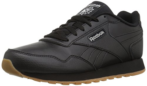 Reebok Classic Harman Run Sneaker, black/steel/gum, 9 M US