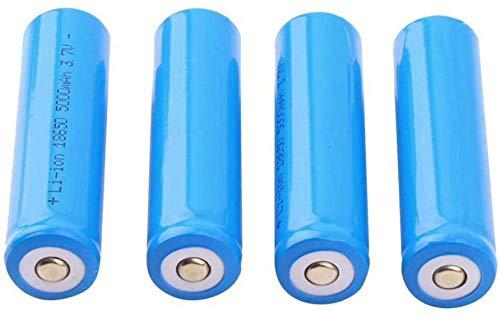 18650 5000mah 3 7V batería de Litio para Dispositivos electrónicos portátiles como linternas baterías afiladas-6 Habitaciones