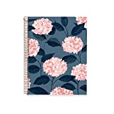 MIQUELRIUS 47981 - Cuaderno Espiral A4, tapa dura, 120 Hojas Cuadrícula Interior 4 Colores Hortensia
