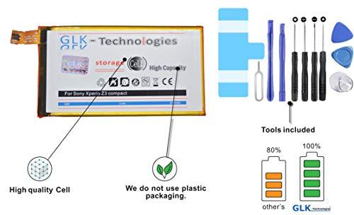 Original GLK-Technologies® MEGA Akku Sony Xperia Z3 Compact mit 2700mAh Reparaturset/Werkzeug Set // 2020 B.j