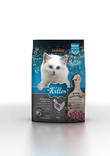 Leonardo Kitten [400g] Kittenfutter | Trockenfutter für Kitten | Alleinfuttermittel für Kitten bis zu 1 Jahr