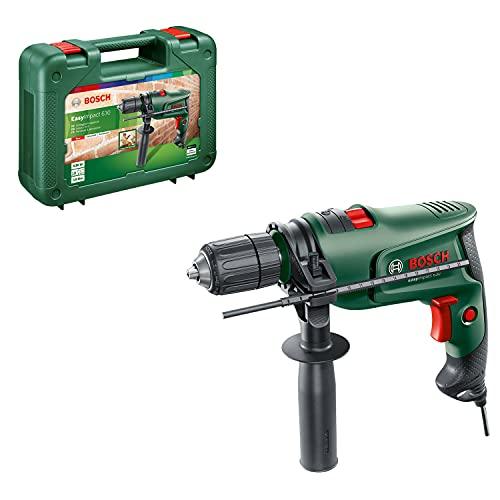 Bosch Home and Garden 0603133100 Bosch Taladro percutor eléctrico EasyImpact (630 W, en maletín de Transporte)