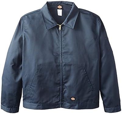 Dickies mens Unlined Eisenhower Jacket, Dark Navy, X-Large/Regular from Williamson Dickie Mfg Co.