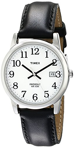 Our #3 Pick is the Timex Men's Easy Reader Date Leather Strap Watch