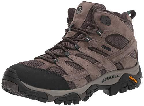 Merrell men's Moab 2 MID Waterproof Hiking Boot, 10.5 Wide