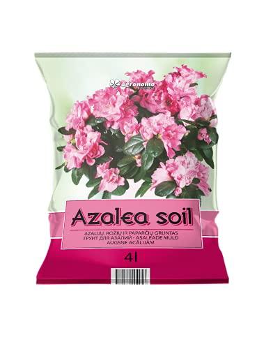 Agronomo | Fondo per AZALEE, ROSE E COLORI | Fondo in organico | Terriccio per piante | Terriccio per piante | Pacco 4 L