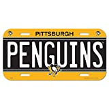 WinCraft NHL Pittsburgh Penguins 85241414 License Plate