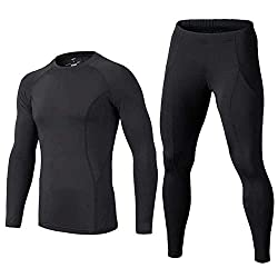 Buykud Boys Long Sleeve Athletic Base Layer