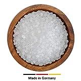 DistrEbution Paraffin 58-60°C in Pastillen, Made in Germany, Paraffinwachs/Kerzenwachs für Kerzenherstellung, Wachsbad und mehr, wenig Öl (10 kg)