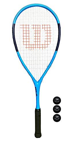 Wilson Ultra Elite - Raqueta de squash + 3 pelotas de squash