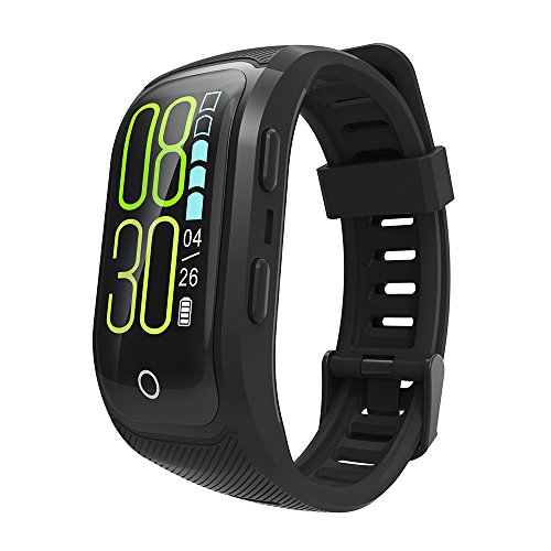 ZRHEART 【New Version】 Fitness Tracker Watch IP68 Waterproof Fitness Band with Heart Rate Sleep Monitor Color Screen GPS Watch iOS Android Activity Tracker for Swimming