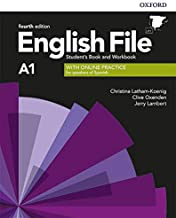 English File 4th Edition A1. Student's Book and Workbook with Key Pack (English File Fourth Edition)