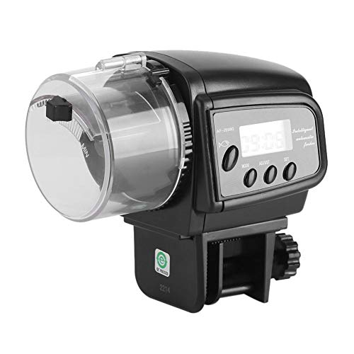Haofy Alimentador automático de Peces Temporizador Dispensador de Alimentos para Peces Tanque de Acuario Alimentador automático