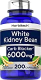 White Kidney Bean Carb Blocker | 6000 mg 200 Capsules | Non-GMO & Gluten Free Extract | by...