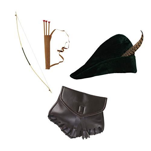 Widmann Robin Hood Set - Hut, Bogen & Tasche