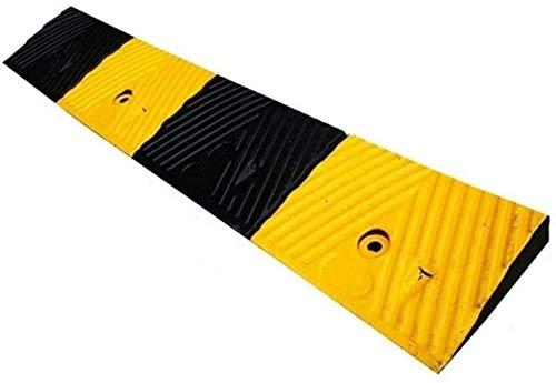 Rampas para bordillos de Scooter, Almohadilla Triangular Antideslizante de Goma Rampas para vehículos Resistentes y duraderas Almohadilla para Pendientes de automóviles Pesados 3/3.5CM (Tamaño: 98