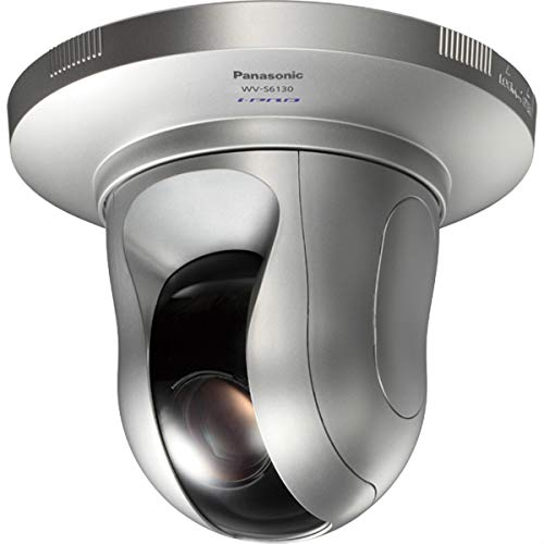 Panasonic iPro Extreme WV-S6130 Full HD 1080p Indoor PTZ Network Dome Camera, 21x Optical Zoom, 60 fps, H.265, PoE