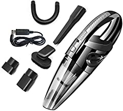 HAPPIShare Car Vacuum, Corded Car Vacuum Cleaner High Power for Quick Car Cleaning, DC 12V Portable Auto Vacuum Cleaner for Car Use Only - Much Stronger Suction Potable Handheld Vacuum Cleaner