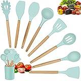 Kitchen Utensils Set, 9 Pcs Non-...