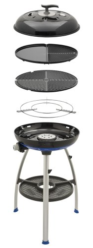 Cadac 8910-50 Carri Chef 2 Outdoor Grill with Pot Stand, Barbeque Grid and Split Grill/Griddle...
