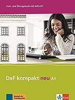 DaF kompakt neu in 3 Banden: Kurs- und Ubungsbuch A1 + MP3-CD