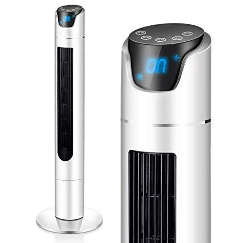 Fan Mini Tower koelventilator, 13-inch, 3-snelheid, Swing, stille werking, ideaal voor bureaus of nachtkastjes, voor thuis of op kantoor, zilveren luchtkoeler