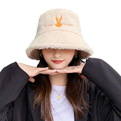 TYXQ Sombrero de Felpa ala Ancha Informal Transpirable Gorro De Cálido Durable Ocio Sombreros