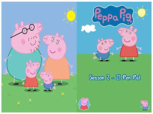 Peppa Pig's Season 2 - 21 Pen Pal: Peppa pig's Stories (English Edition)