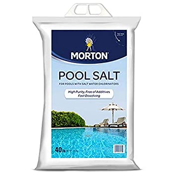 Morton Salt 3460 Pool Salt 40 lb White