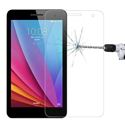 SHISHUFEN Película de vidrio templado de 0,4 mm 9H + dureza superficial 2,5D a prueba de explosiones para Huawei Honor Play MediaPad T1/T1-701U