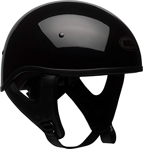 BELL Unisex Adult Pit Boss Sport Gloss Black Half Helmet 7080700