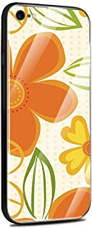 Jenny Desse iPhone 7 Plus/iPhone 8 Plus ケース カバー 背面強化ガラスケース 背面ガラスフィルム シリコンハイブリッドケース 対応 sim free 対応
