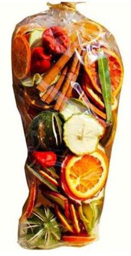 Avena Christmas Weihnachten Duft Potpourri Geschenk Tüte (350g): GETROCKNETE Früchte, Chilis und Lorbeerblätter