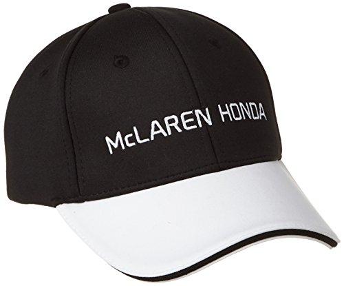 McLaren F1 Herren Honda Official Team Cap, Schwarz/Weiß, One Size
