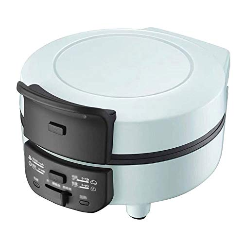 Huishoudelijke Waffle Machine, Mini wafelijzer, Afneembare bakplaat, Deep kookplaten, Verstelbare Temperature Control, 640 W, for het ontbijt of Snacks