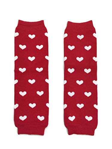 valentine baby leg warmers