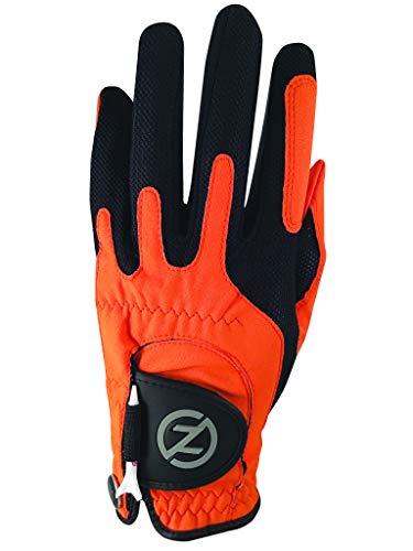 Zero Friction Men's Golf Glove, Left Hand, One Size, Orange