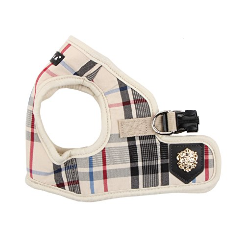 Puppia Authentic Junior Harness B, X-Large, Beige (PAMA-AH978-BE-XL)
