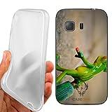 Custodia Cover Case Rana Valigia Viaggio per Samsung Galaxy Young 2 G130H