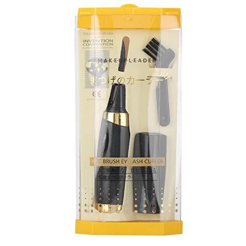 Rizador de pestañas eléctrico ligero, herramienta de rizado de pestañas de diseño...
