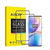 [2 unidades] Protector de pantalla de cristal templado compatible con Oneplus 8 Pro, dureza 9H, borde 3D, resistente a arañazos, sin burbujas, protector de pantalla HD para Oneplus 8 Pro
