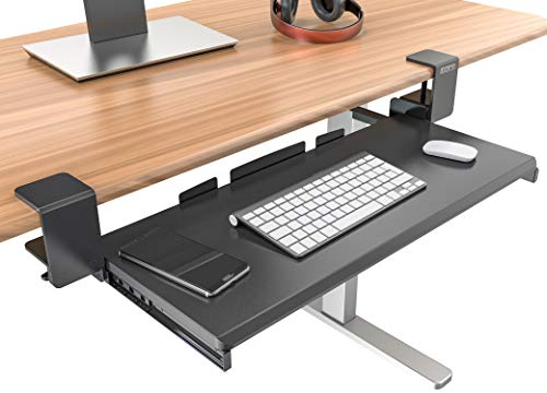 Top desk chair keyboard tray for 2021