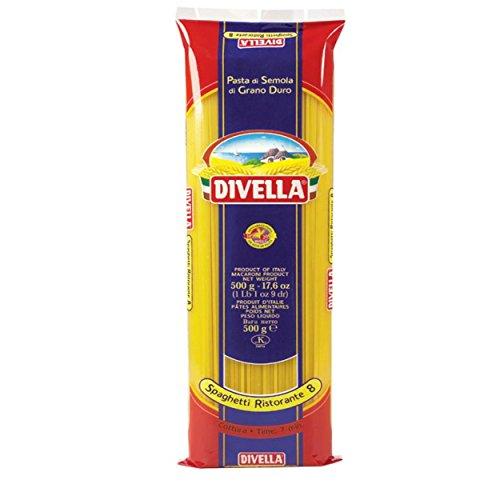 Divella spaghetti ristorante 8 cottura 7 minuti 500 grammi (082664)